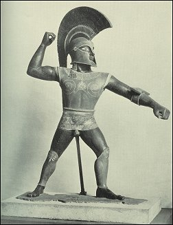 The third and final forgery of an Etruscan terracotta warrior, only this time, the forgers made a mistake which resulted in the discovery of their scheme… and forced historians across the world to admit they'd been fooled.