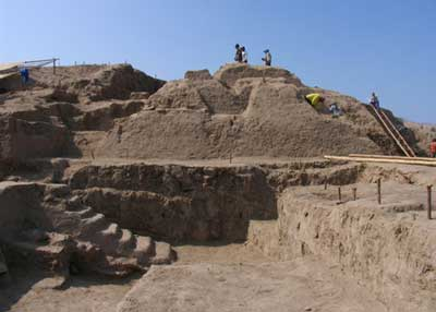 This 4,000-year-old fire temple from Peru was built by an advanced, pre-Incan society which deliberately buried it after the temple had served its use.