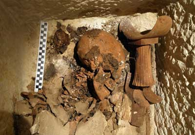 Remains of the ancient Egyptian official Neferinpu, an official whose intact burial gives unique and much-needed insight into the non-royals of the time!