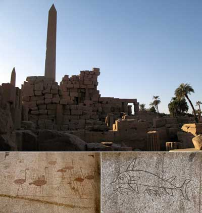 Turns out the Egyptians were able to float the giant obelisks down the Nile to their final destinations… and when the workers were bored, they drew graffiti on the walls!