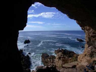 Early humans in South Africa lived by the sea and apparently ate a lot of shellfish.