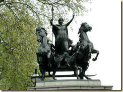 Statue of Boudicca by Thomas Thornycroft