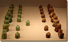 A 12th century fritware chess set