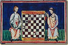 Chess image from the Libro de los juegos