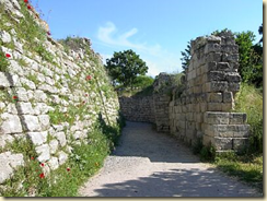 Sections of Troy's legendary walls