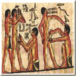 Image showing medical practices in Ancient Egypt