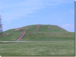 This massive burial structure is found at Cahokia