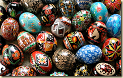 Decorating eggs is an ancient Ukrainian tradition