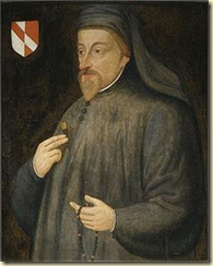Medieval poet Geoffrey Chaucer first mentioned April Fool's Day