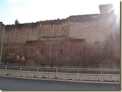The gate was part of the Castra Praetoria, the fortress of the Praetorian Guard