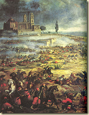 Four thousand Mexican troops defeated 8,000 French soldiers