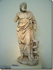 Aesclepius, the Greek God of Medicine and Healing