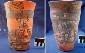 Peruvian Drinking Vessel  (credit: Michael Moseley et al)