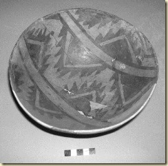 1200 year old bowl with traces of cacao